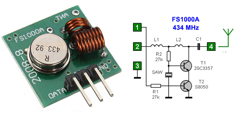 Sensor fire transmit